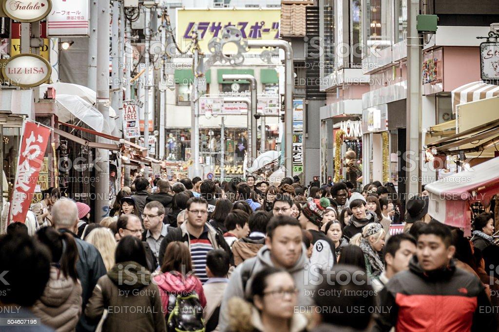 Harajuku district - Tokyo stock photo
