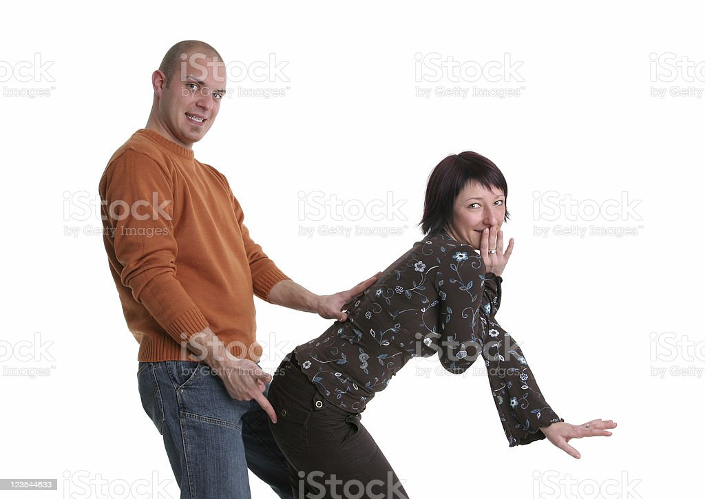 Harassment? royalty-free stock photo