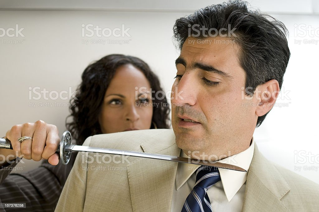 Harassment royalty-free stock photo