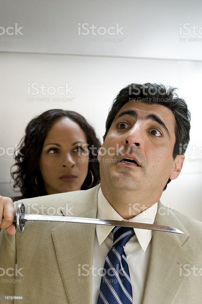 Harassment royalty-free stock photo