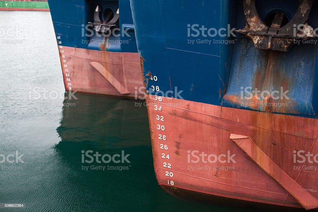 harbor anchor ship background stock photo