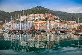 Harbor at Antalya, Turkey