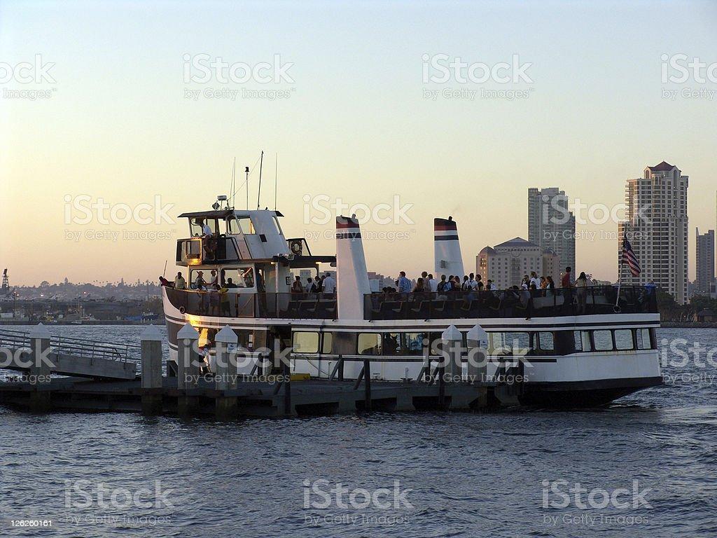Harbor Cruises in San Diego stock photo