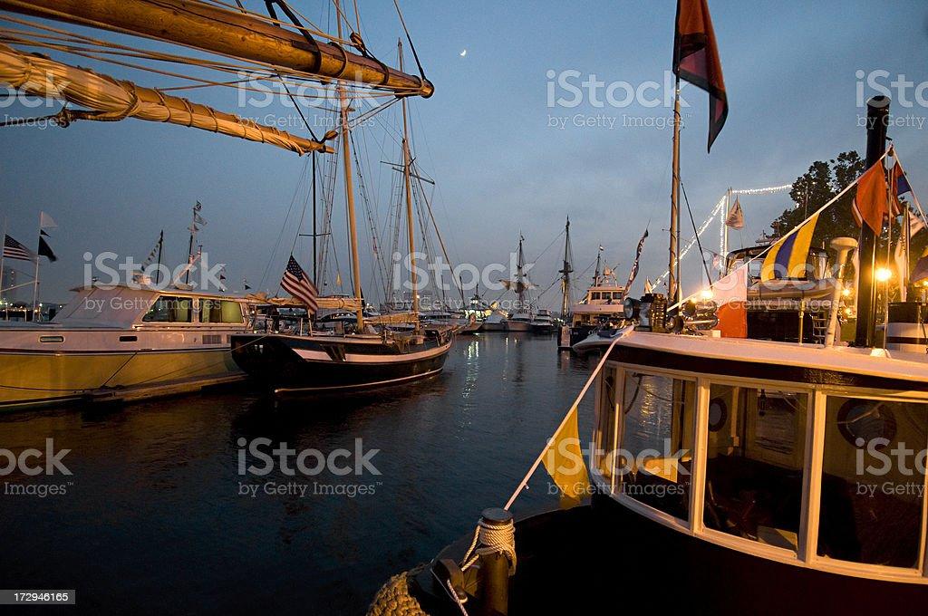 Harbor festival, Norfolk, Virginia, USA stock photo