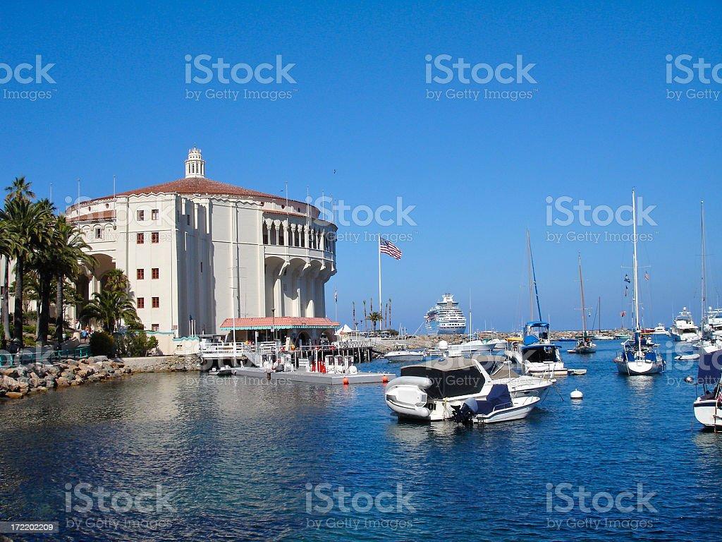 Harbor Life royalty-free stock photo