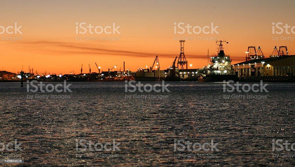 harbor - Melbourne royalty-free stock photo