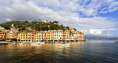 Harbor of Portofino - Liguria Italy