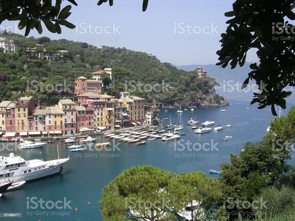 Harbor, Portofino, Italy. royalty-free stock photo