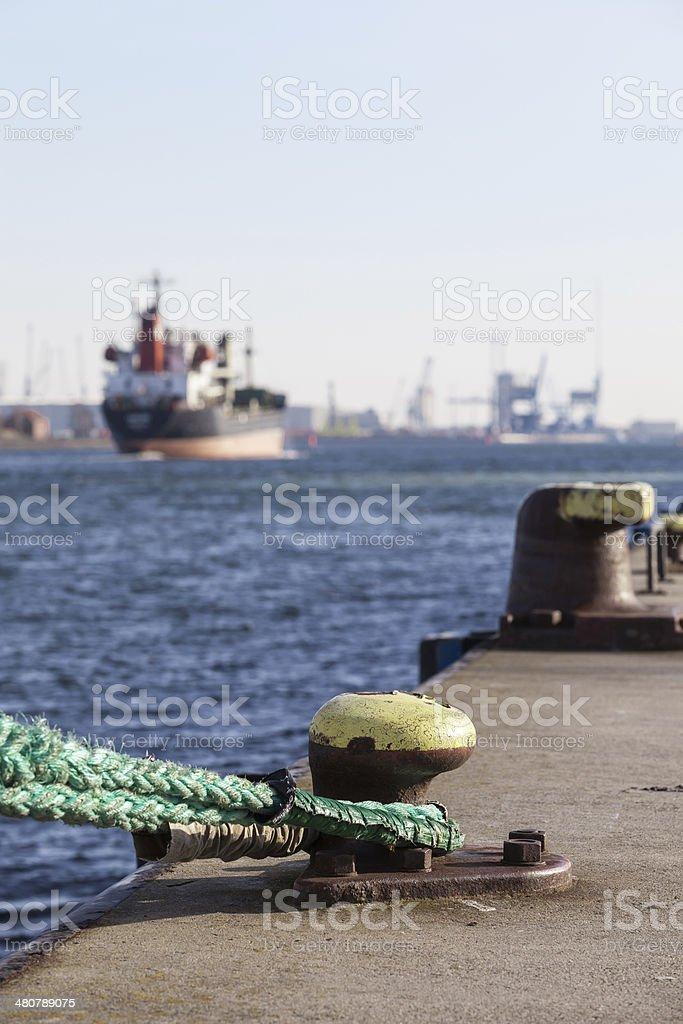 Harbor Scene stock photo