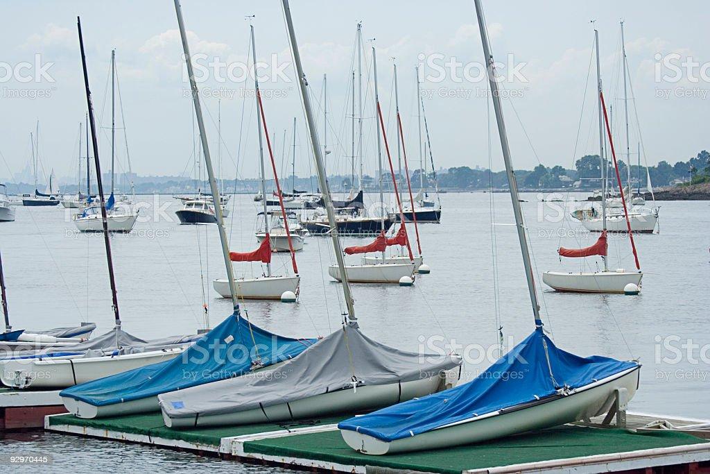 Harbor Series stock photo