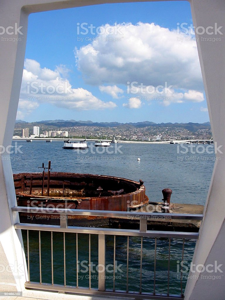 Harbor View royalty-free stock photo