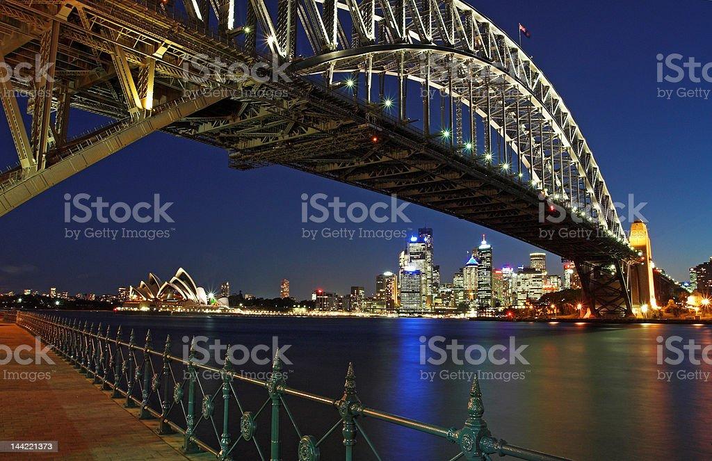 Harbour Bridge royalty-free stock photo