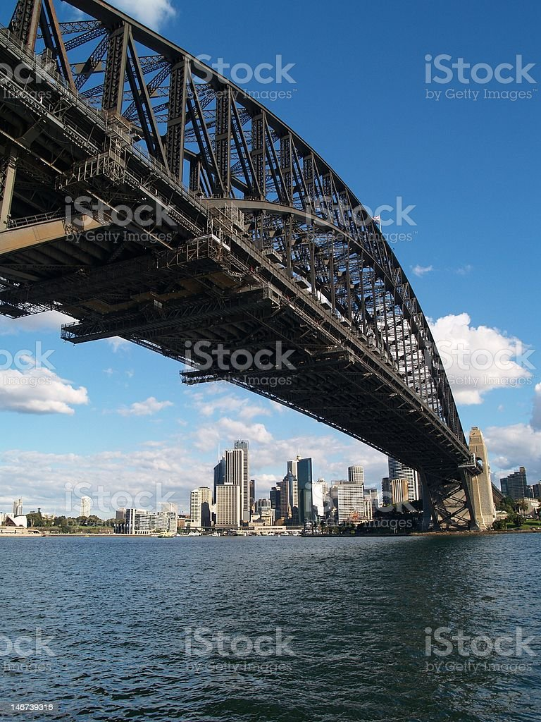 Harbour Bridge royalty-free stock photo