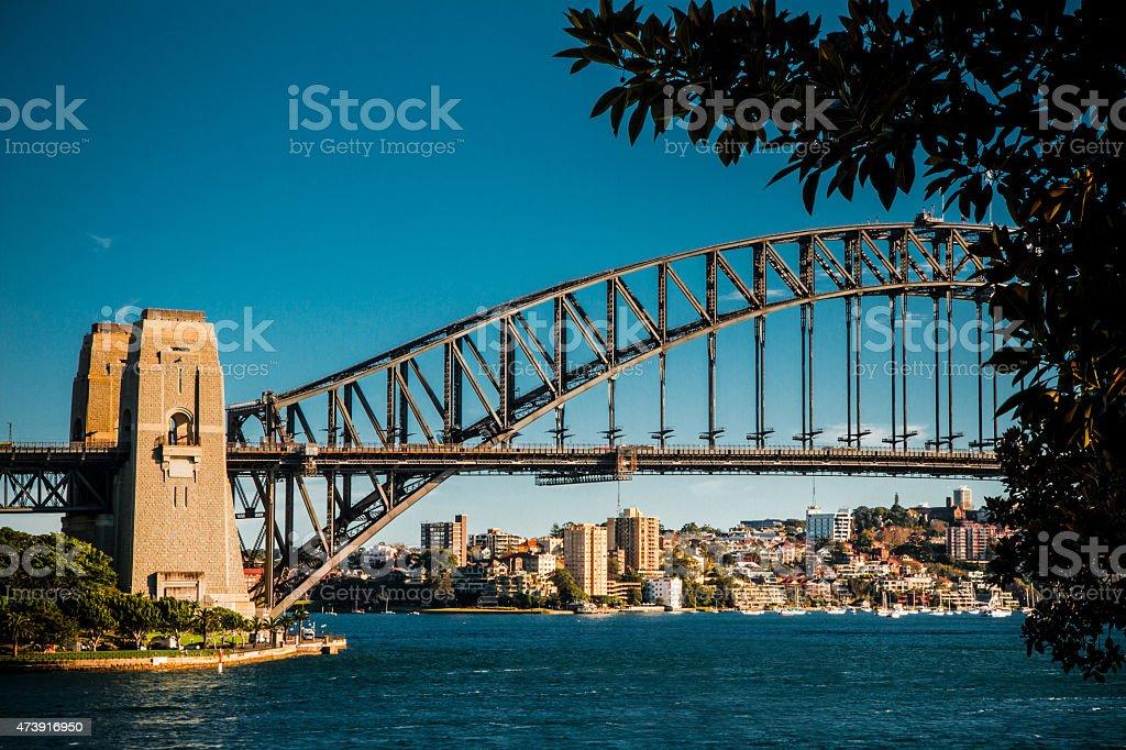 Harbour Bridge stock photo