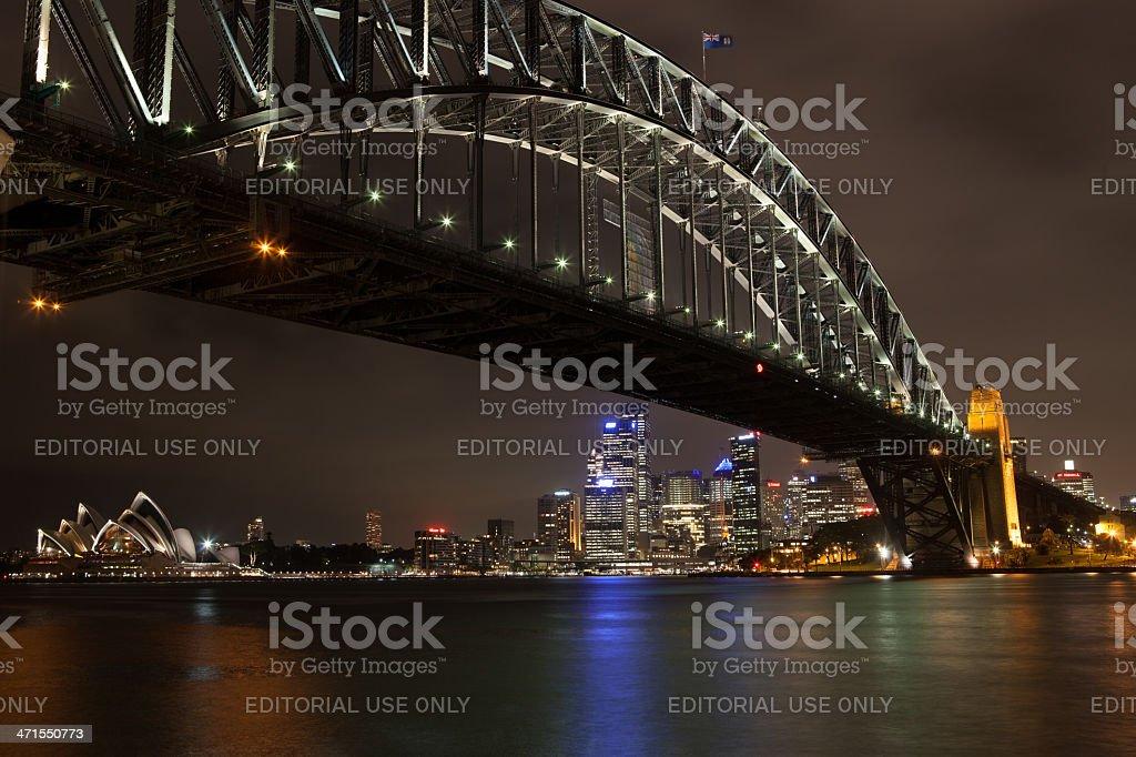 Harbour Bridge, Sydney, Australia royalty-free stock photo