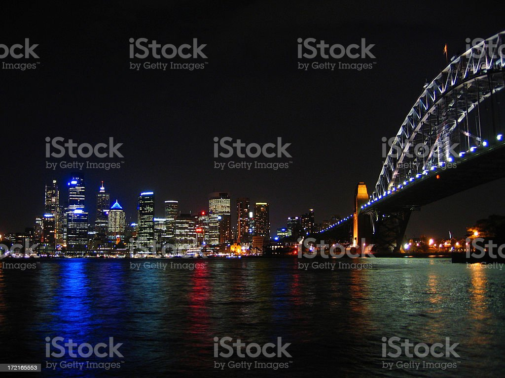 Harbour Bridge Sydney royalty-free stock photo
