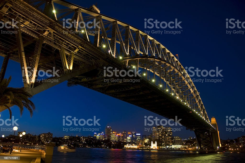 Harbour bridge - Sydney royalty-free stock photo