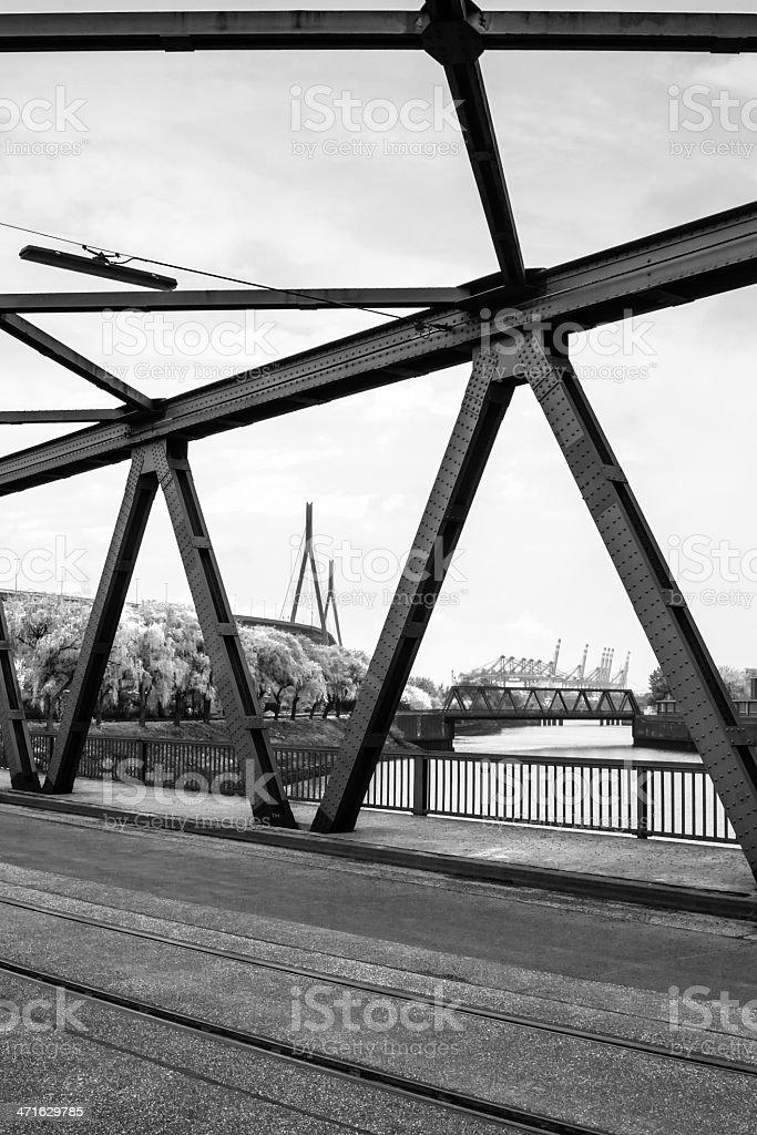 Harbour Bridges stock photo