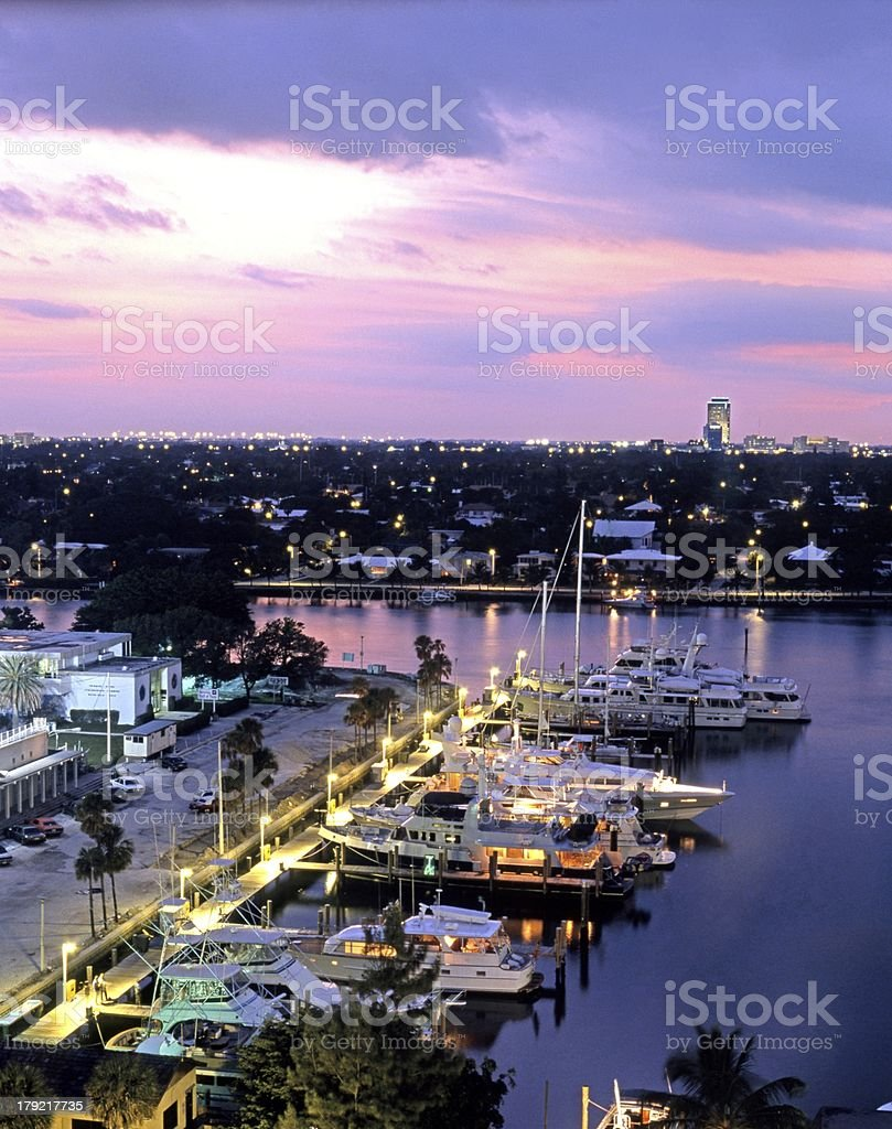 Harbour, Fort Lauderdale, USA. royalty-free stock photo