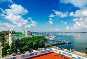 harbour of Cienfuegos, Cuba