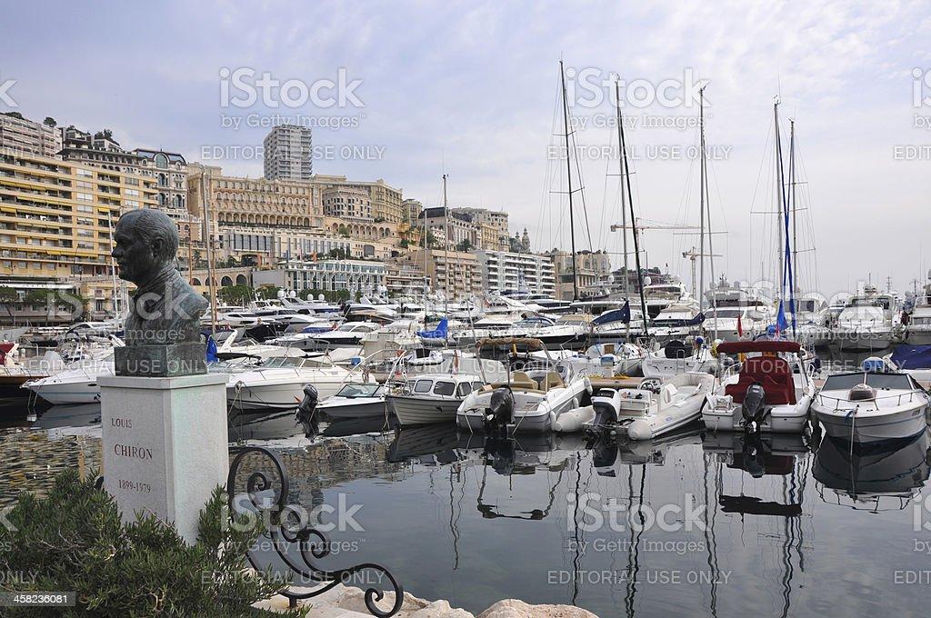 harbour of monte carlo, monaco royalty-free stock photo