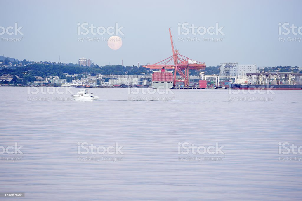 Harbour royalty-free stock photo