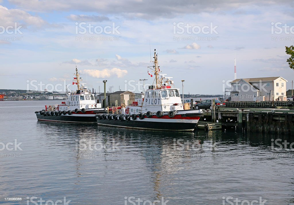 Harbour Pilot Boats royalty-free stock photo