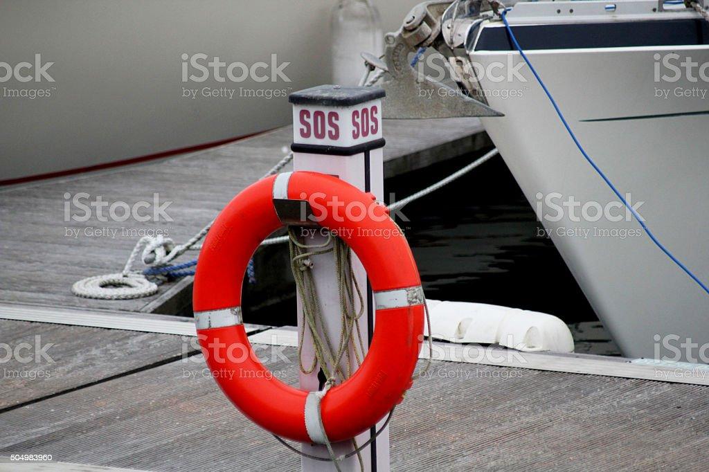Harbour Scene stock photo