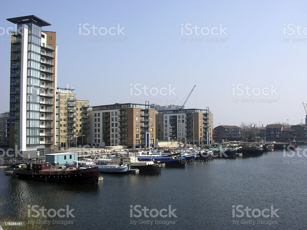 Harbour view royalty-free stock photo