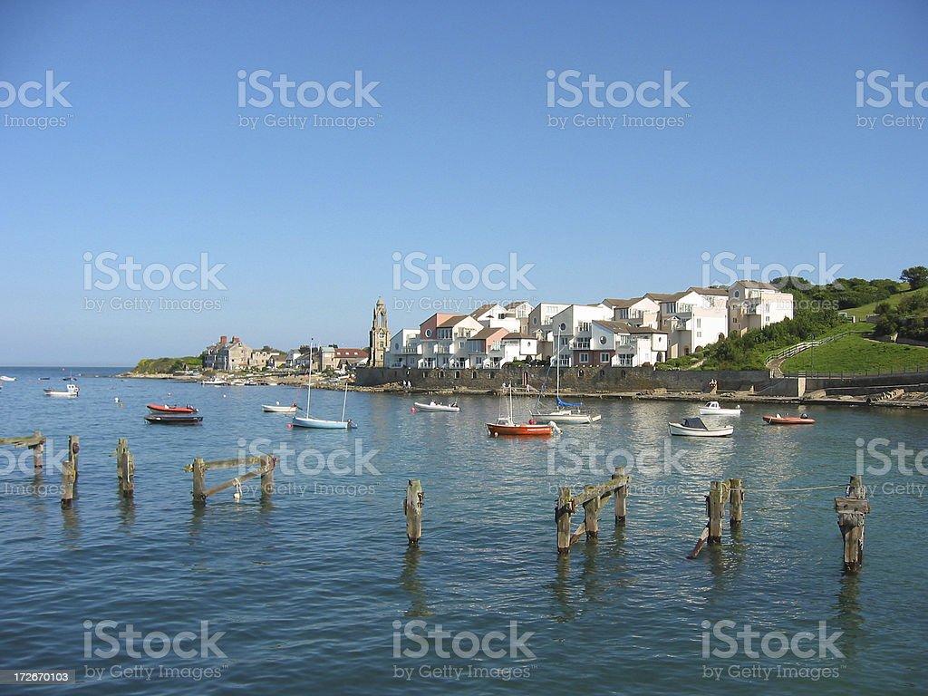 Harbourside Apartments stock photo