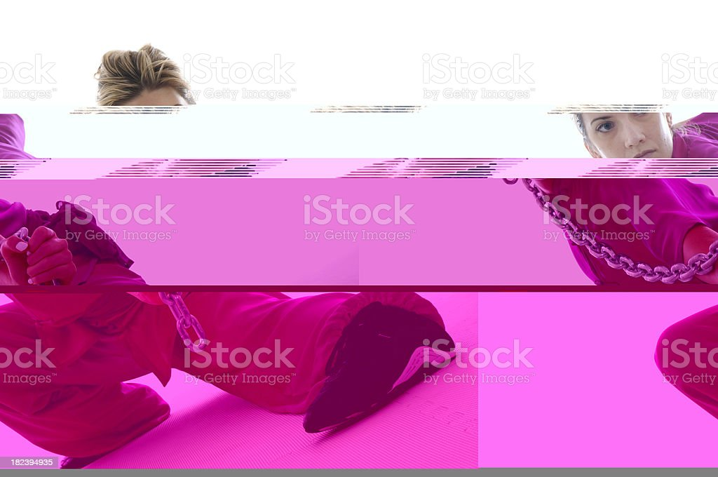 Hard and soft stock photo