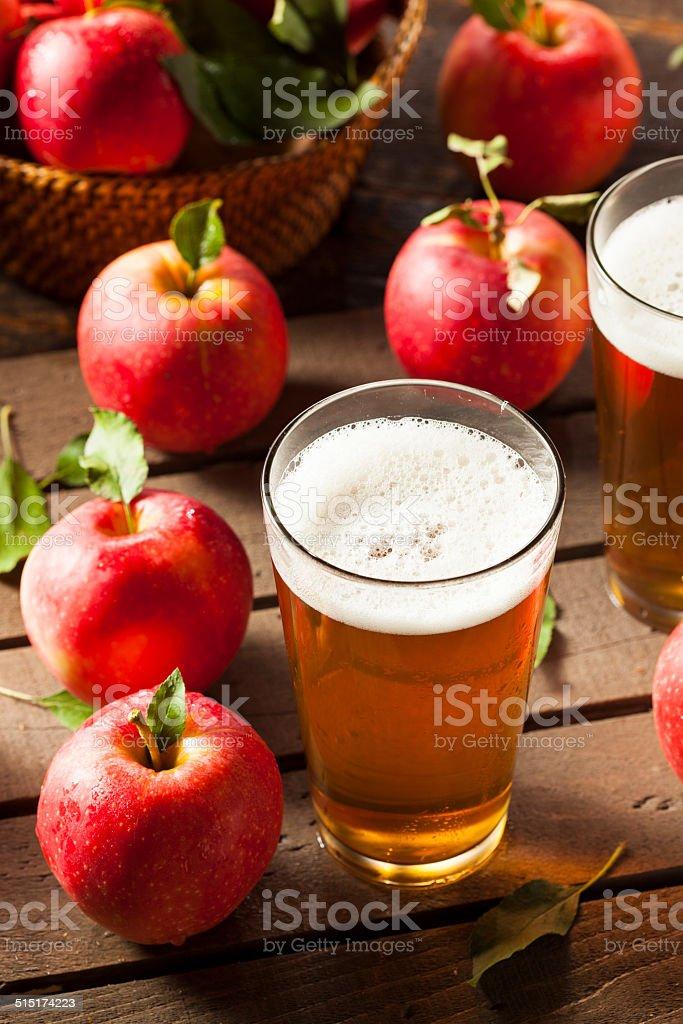Hard Apple Cider Ale stock photo