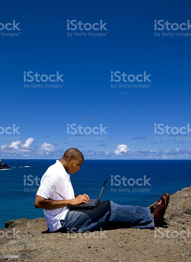Hard at Work royalty-free stock photo
