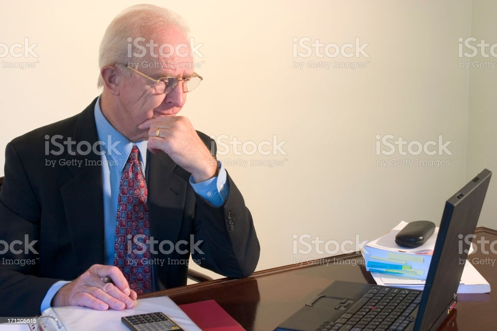Hard at Work royalty-free stock photo