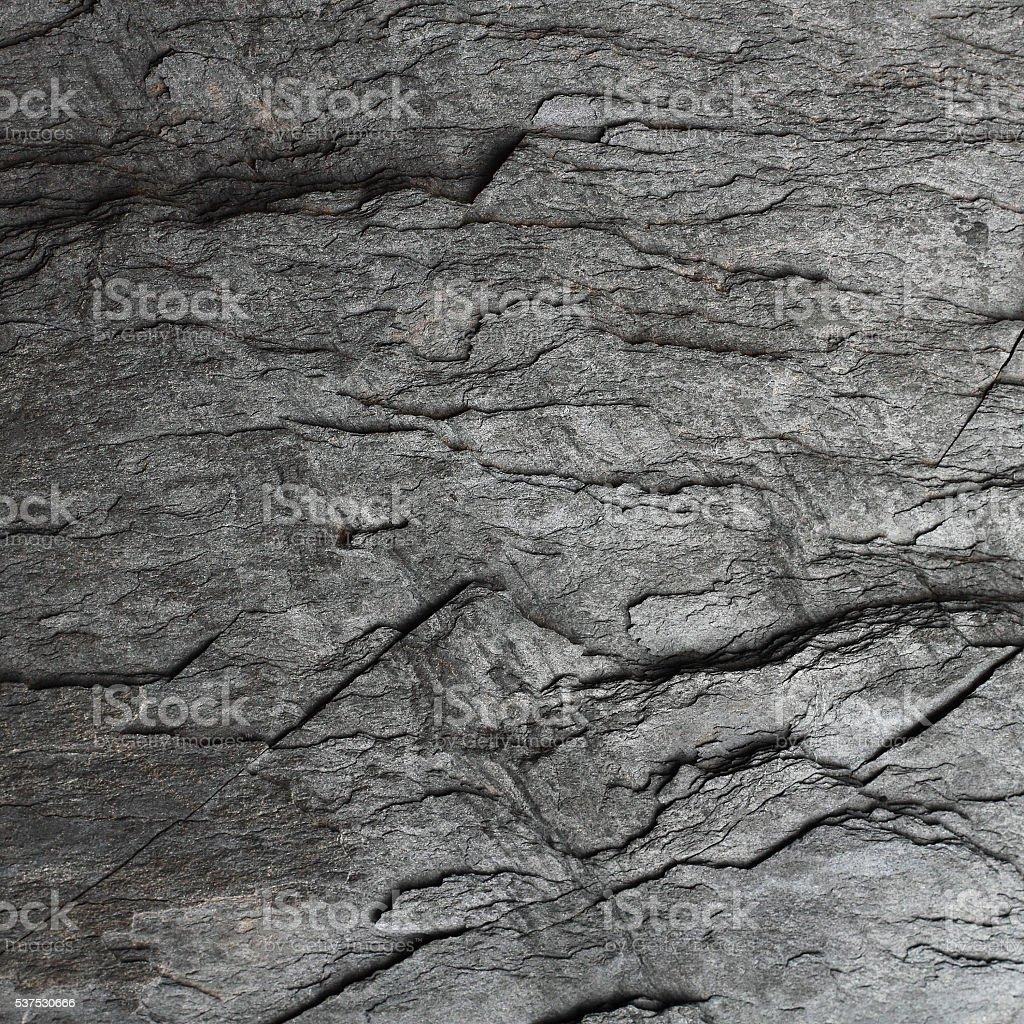 Hard black stone background stock photo