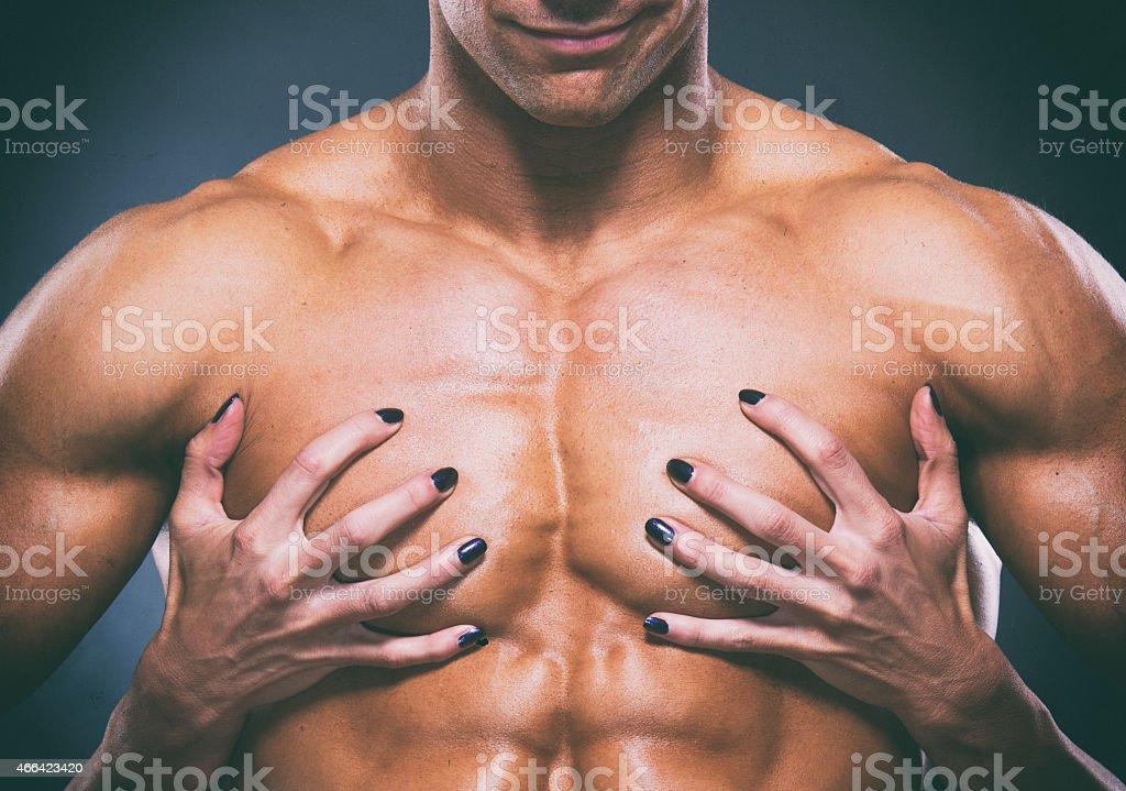 Hard Body Love stock photo