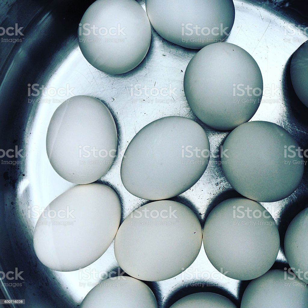 Hard Boiled Eggs stock photo