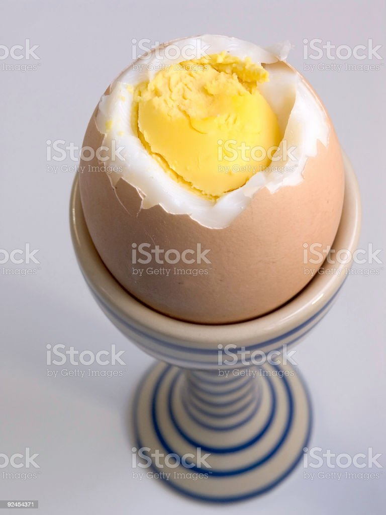 Hard Boiled royalty-free stock photo