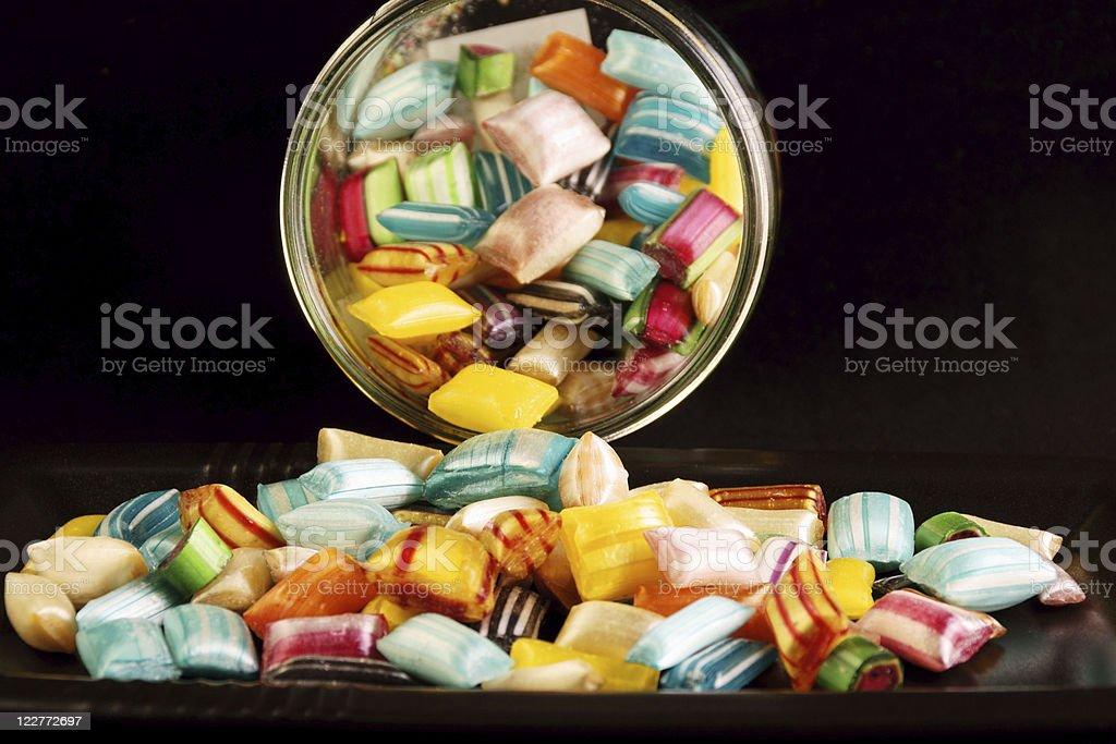 Hard candies royalty-free stock photo