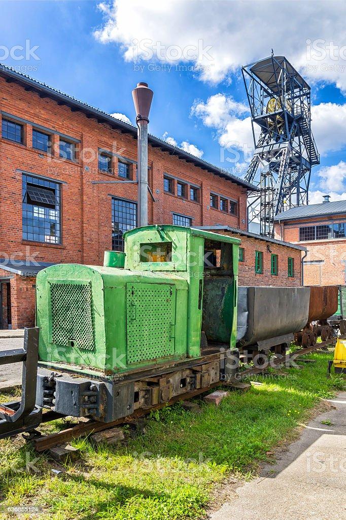 Hard coal mine, Poland stock photo