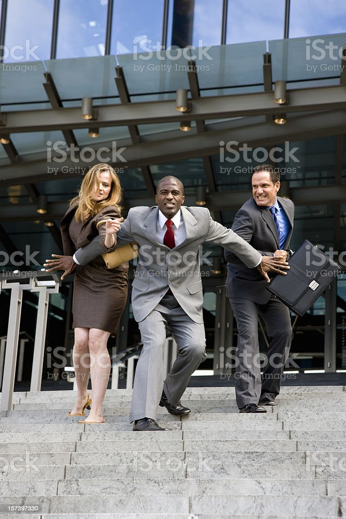 Hard Competition royalty-free stock photo