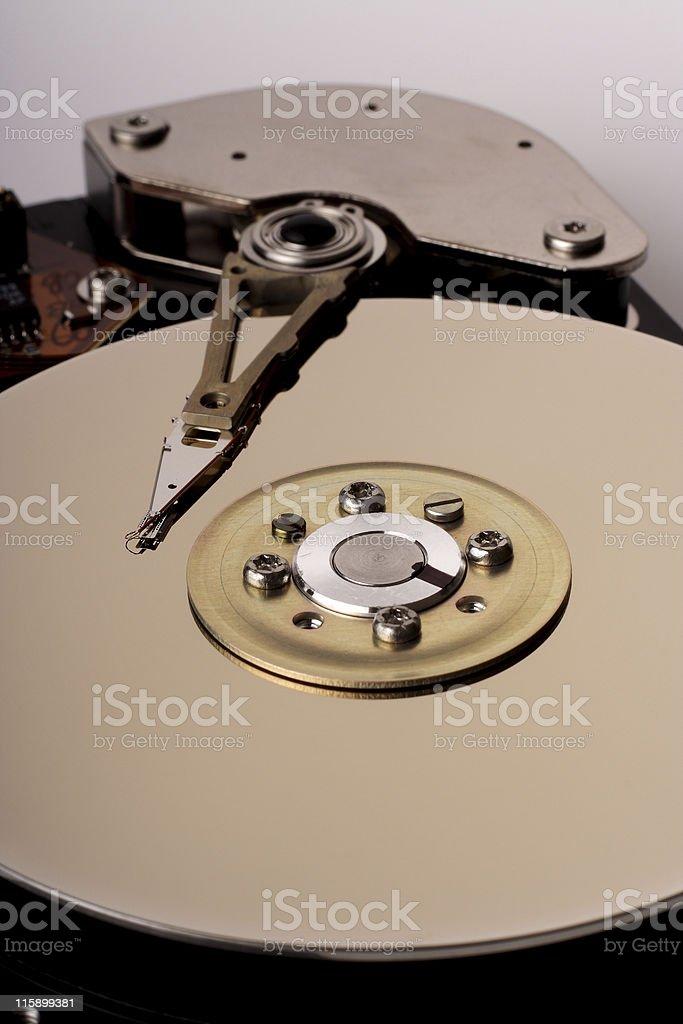 Hard disc drive stock photo