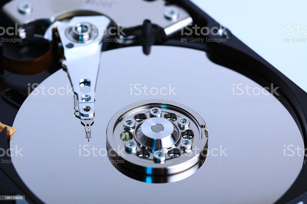 Hard disc drive royalty-free stock photo