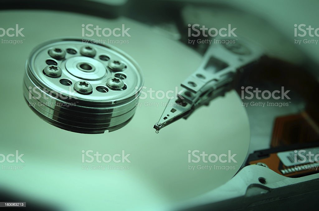 Hard disc drive royalty-free stock photo