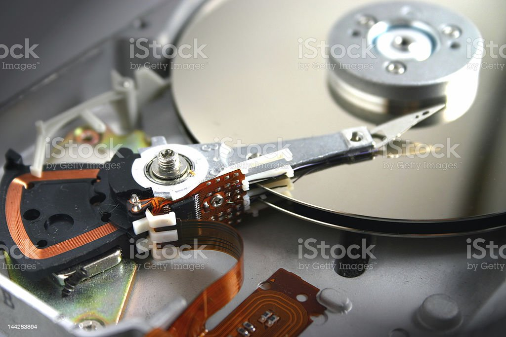 Hard Disc stock photo