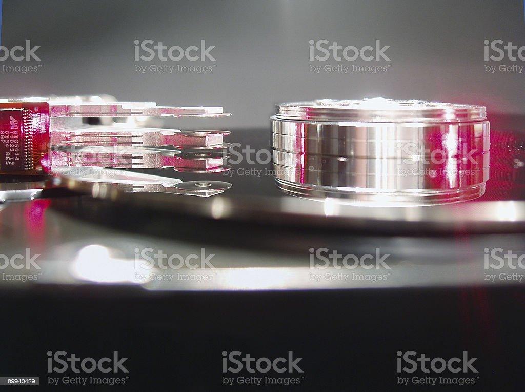 hard disc stock photo