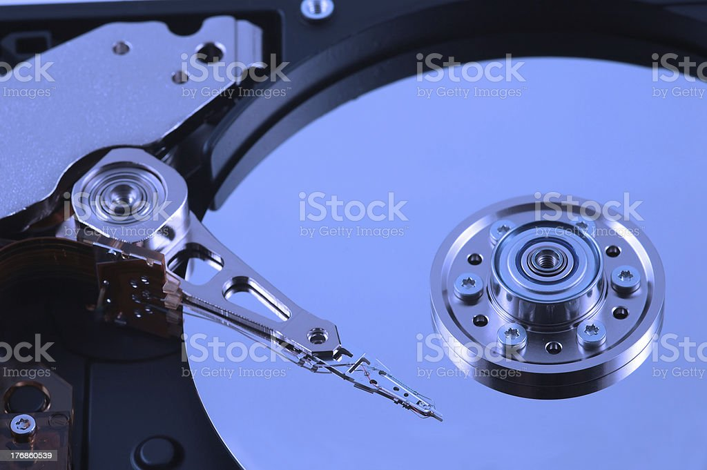Hard Disk 002 royalty-free stock photo