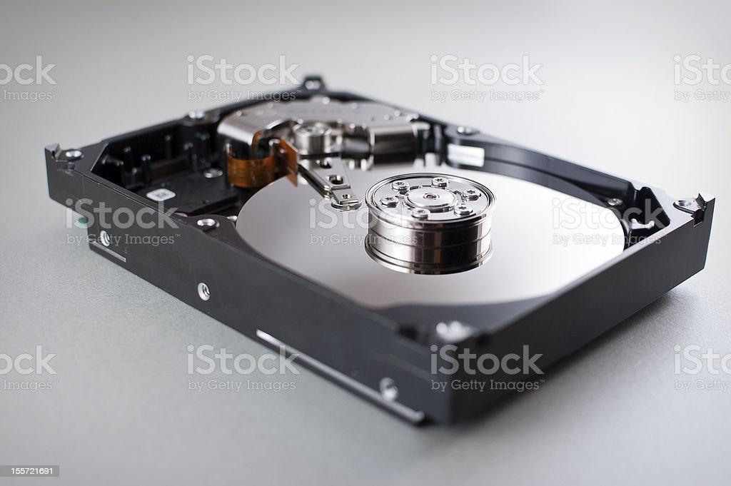 Hard disk drive royalty-free stock photo