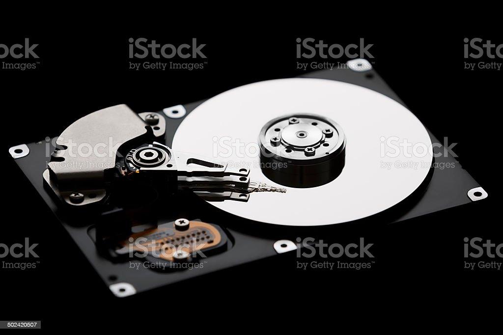 hard disk drive stock photo