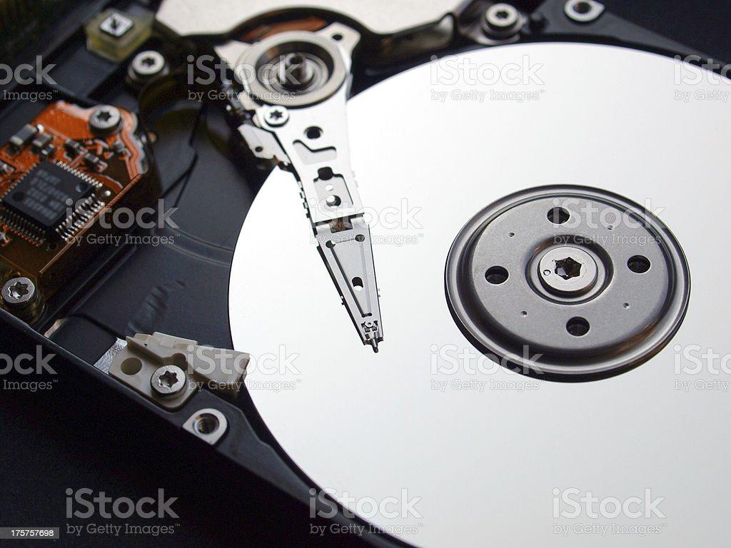 PC hard disk royalty-free stock photo